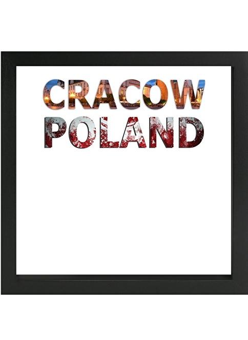 Decarthome Krakow Anı Çerçevesi 23x23 cm Siyah